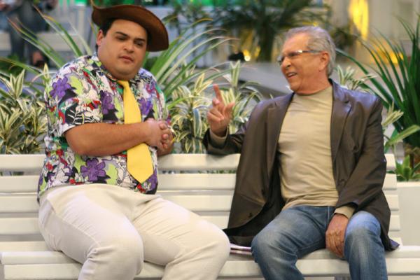 Mateus Ceará foi um dos novos nomes do humorístico em 2012