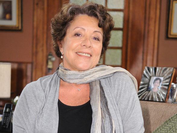 A atriz Ângela Leal, que viverá Dona Xepa no remake