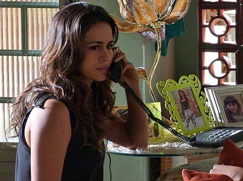 """Em """"Salve Jorge"""", Morena tomou coragem e denunciou Wanda por tráfico de bebês"""