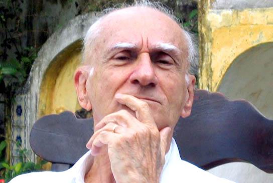 O escritor Ariano Suassuna