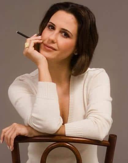 """Guilhermina Guinle fuma durante cenas de """"Guerra dos Sexos"""""""