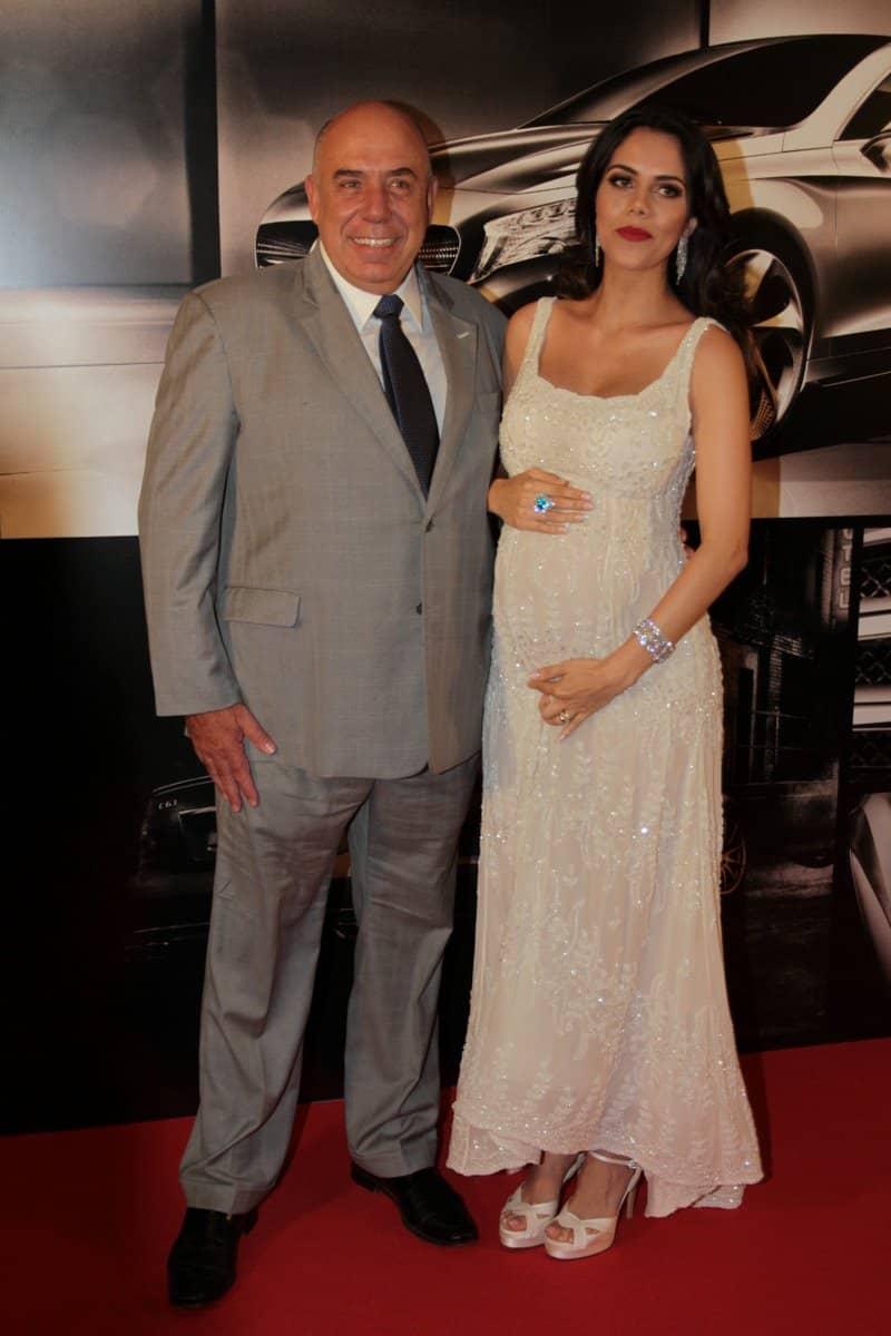 Amílcare Dallevo e Daniela Albulquerque, sua esposa