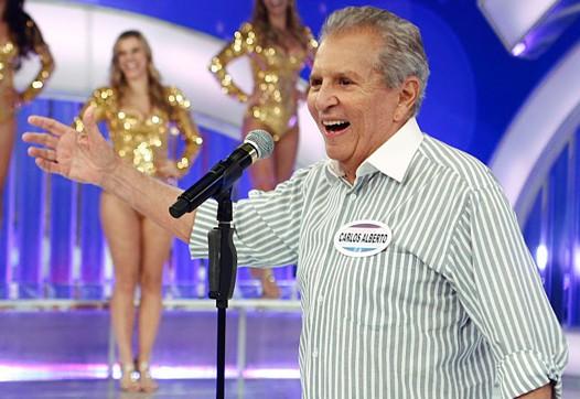 Carlos Alberto de Nóbrega é um dos apresentadores mais tradicionais do SBT