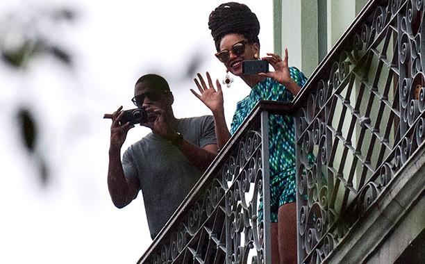 Beyoncé e o marido estiveram em Cuba