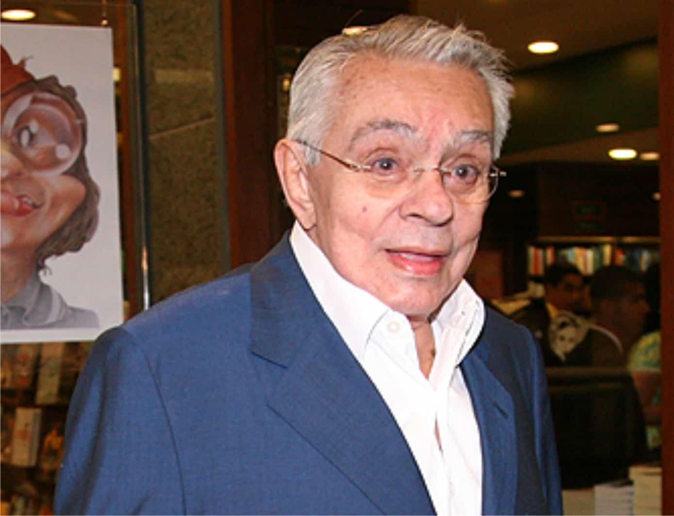 O saudoso Chico Anysio, falecido em 2012