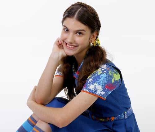 Giovana Grigio, atriz que dará viva a Mili