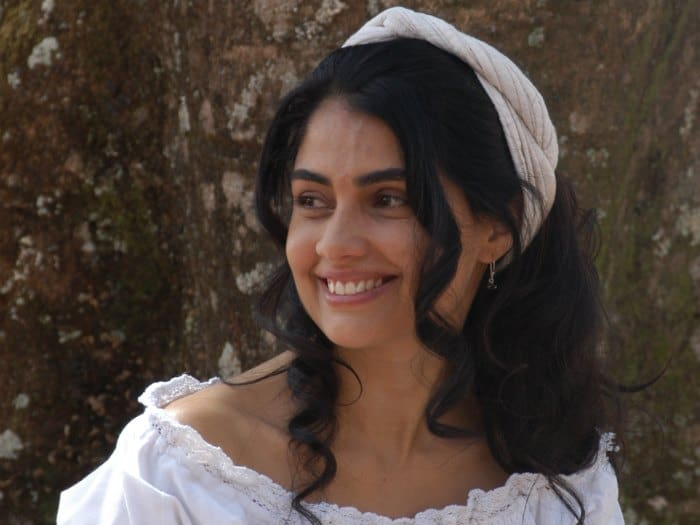 """Patrícia viveu Rosa em """"A Escrava Isaura"""""""