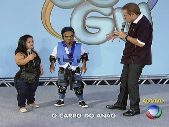 """Gugu """"ao vivo"""" com Marquinhos e sua esposa"""