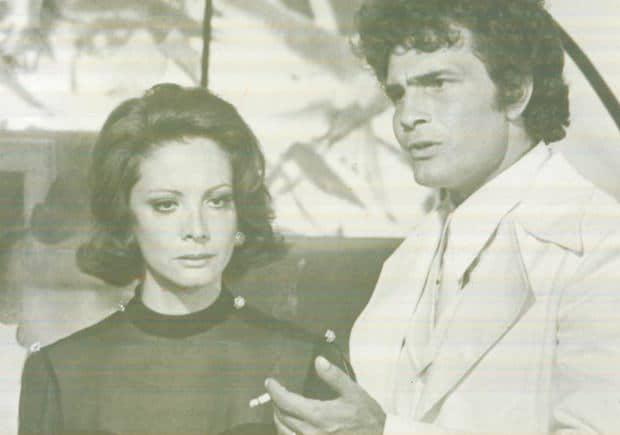 """Cena de """"O Semideus"""" em 1973"""