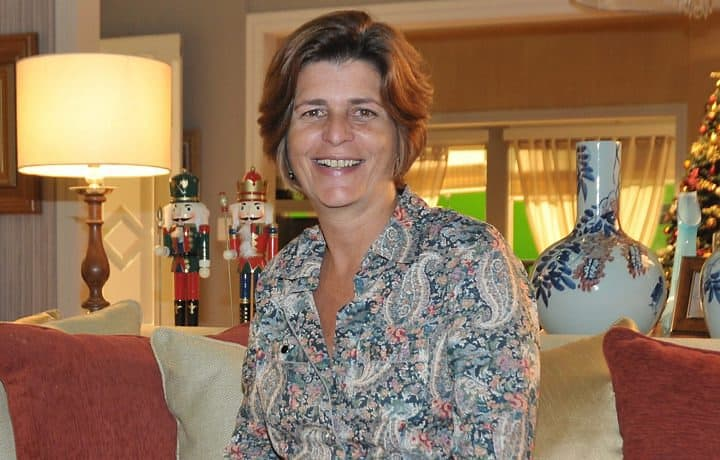 A autora Cristianne Fridman