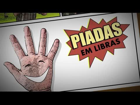 """""""Piadas em Libras"""" é um programa da TV INES"""