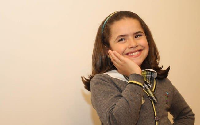 Maísa é uma das estrelas infantis do SBT