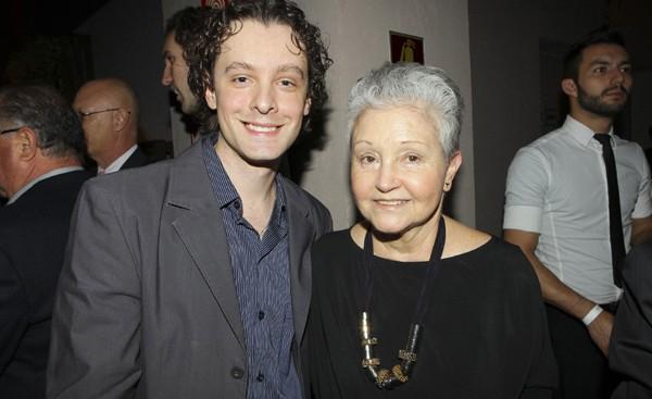 Vincent Villari ao lado de Maria Adelaide Amaral