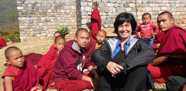 Thelma Guedes, autora da trama, visitou o Nepal