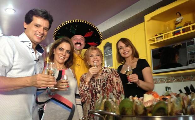 Celso na casa de Gaby no México