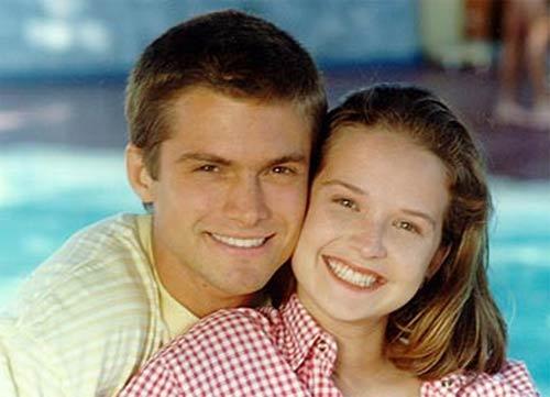 Henrich e Rodrigues: casal loiro
