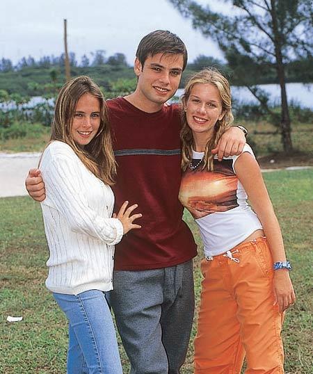 Fernanda, Fábio e Ludmila: trio apagado