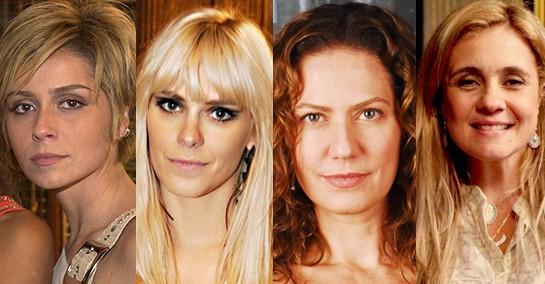 Bárbara, Leona, Flora e Carminha fizeram história na dramaturgia