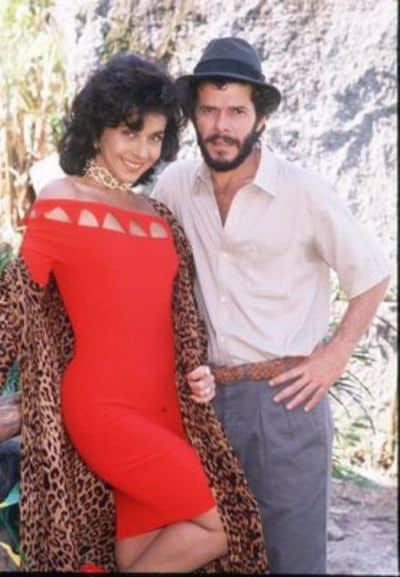 """Casal principal de """"Tieta"""", de 1989"""