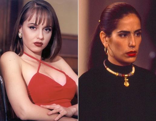 """Paola e Raquel são as """"gêmeas más""""..."""