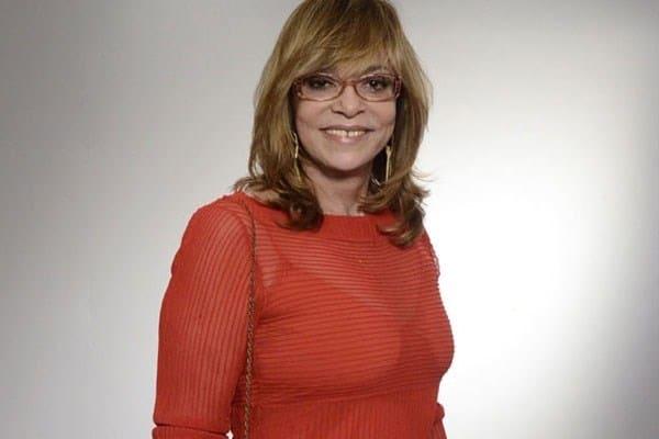 A autora Glória Perez