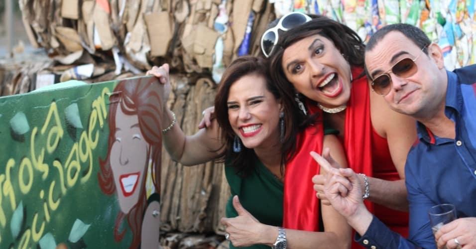 Narcisa, Ceará e Carioca reciclaram lixo