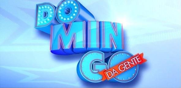 "Logotipo do ""Domingo da Gente"", novo programa da Record"