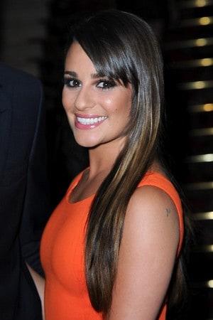 A atriz e cantora Lea Michele