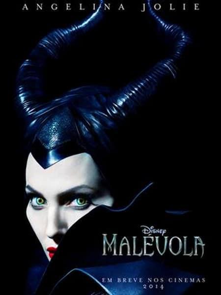 """Angelina Jolie no primeiro pôster de """"Malévola"""""""