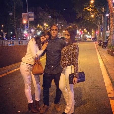 Bruna Marquezine, Neymar e Rafaella