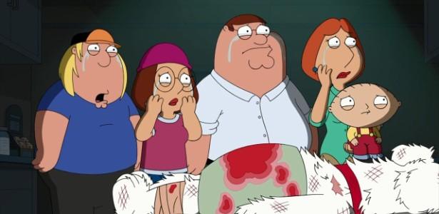 """Brian morreu em novembro em """"Uma Família da Pesada"""""""
