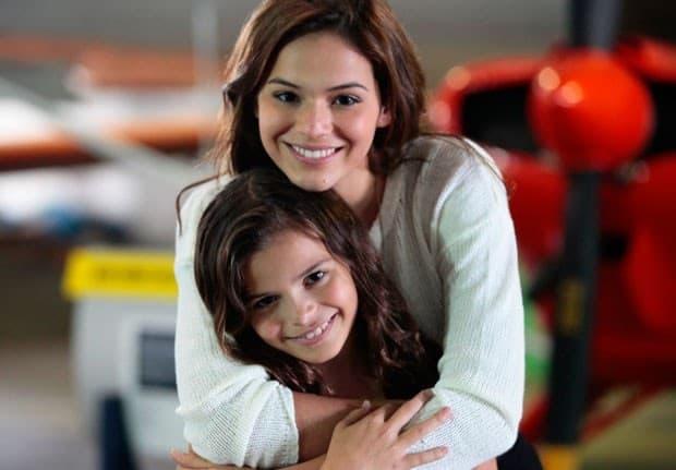 Bruna e Luana Marquezine estão na mesma novela global