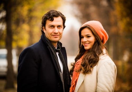 """Gabriel Braga Nunes e Bruna Marquezine durante as gravações de """"Em Família"""""""