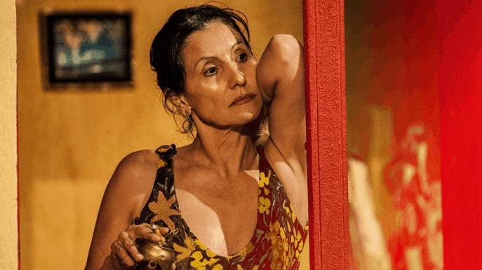 """Cássia Kis Magro em cena de """"Amores Roubados"""""""