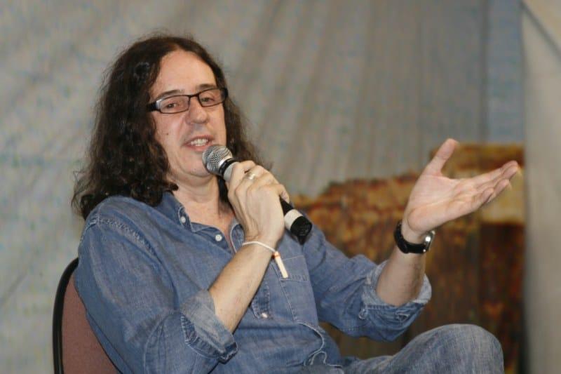 O autor Geraldo Carneiro