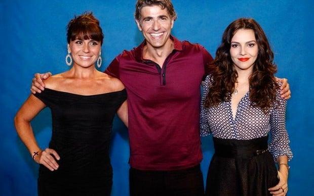 Gianecchini com Giovanna Antonelli e Tainá Muller