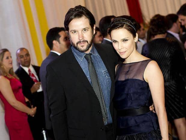 Murilo Benício e Débora Falabella estão juntos desde 2012