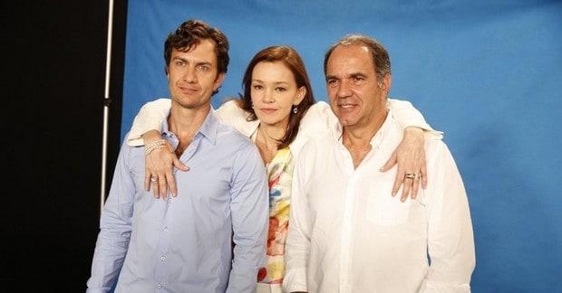 "Gabriel Braga Nunes, Júlia Lemmertz e Humberto Martins protagonizam ""Em Família"""