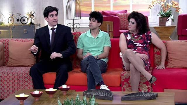 """""""Não vamos especificar qual o programa estamos satirizando, mas as pessoas vão identificar"""", diz Marcelo Adnet   ta no ar tv 2014"""