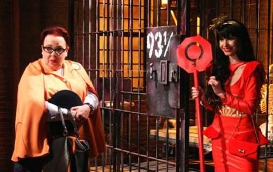 Luxúria Lustrosa tenta fugir da cadeia