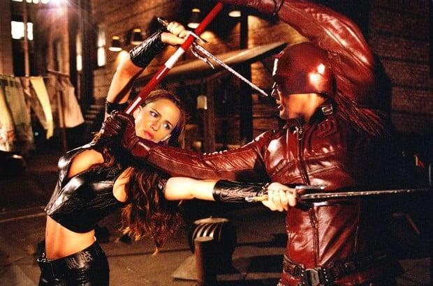 """Jennifer Garner e Ben Affleck estrelaram o filme """"Demolidor"""" em 2003"""