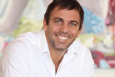 O ator Marcelo Faria