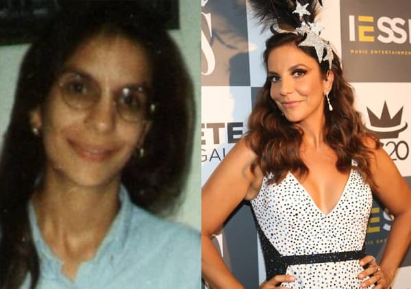 Confira fotos das celebridades antes e depois da fama  Ivete Sangalo Antes Da Fama