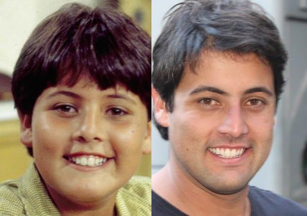 Bruno De Luca ainda era uma criança na primeira temporada da trama