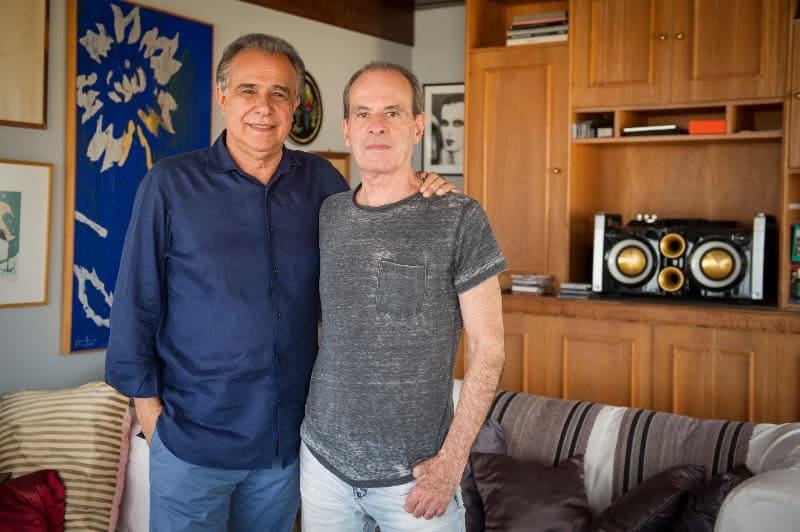 Roberto D'Avila e Ney Matogrosso