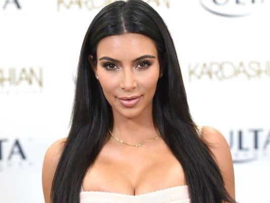 Kim Kardashian teve sua intimidade invadida