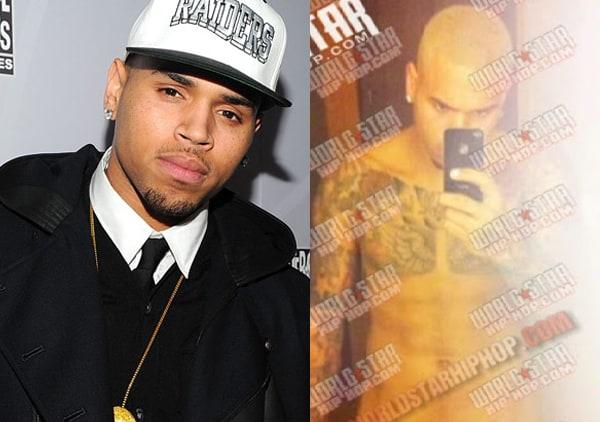 Cantor Chris Brown não teve problema com foto divulgada
