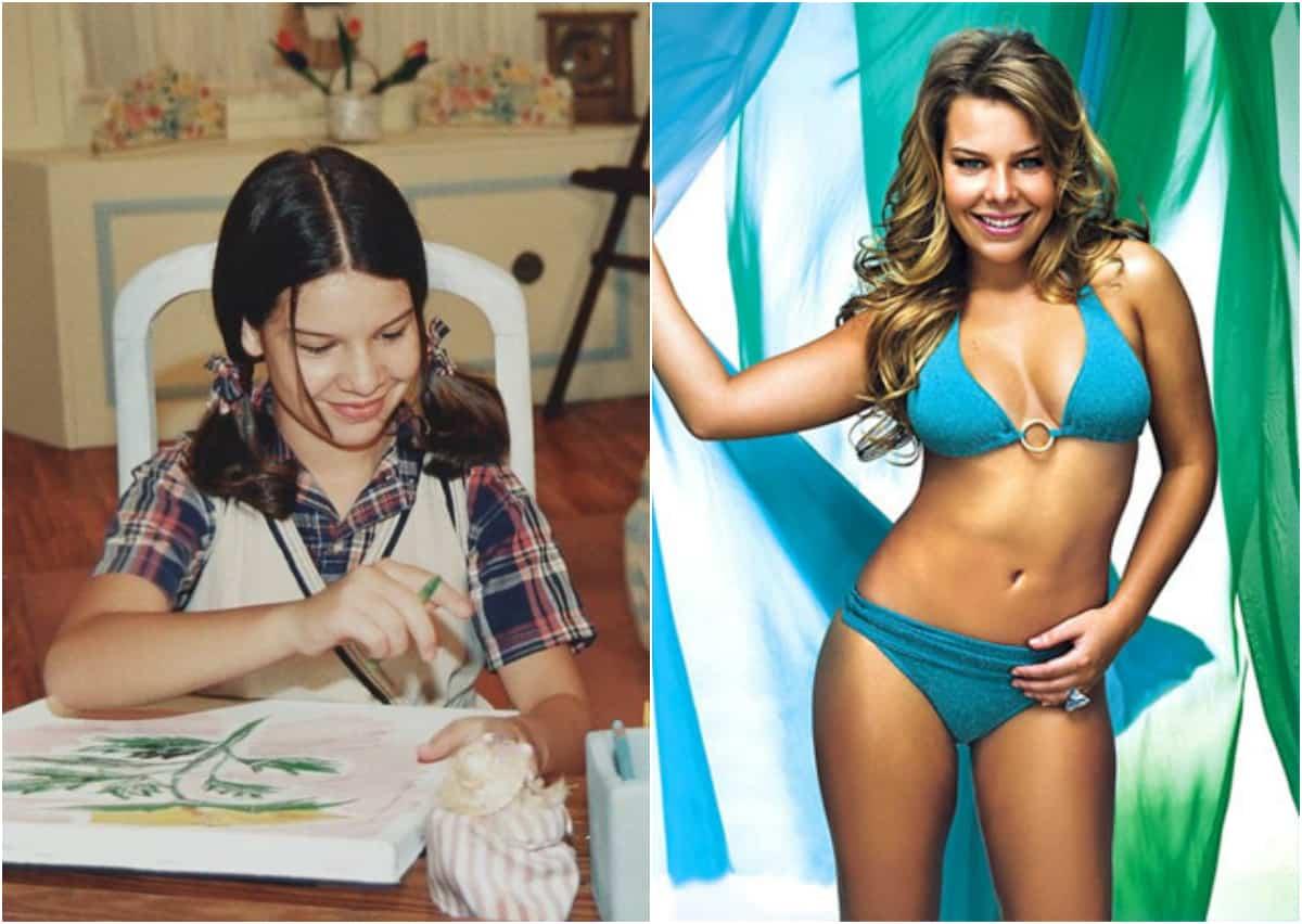 """Fernanda Souza surgiu na TV como Mili e, ao longo dos anos, se tornou """"mulherão"""""""