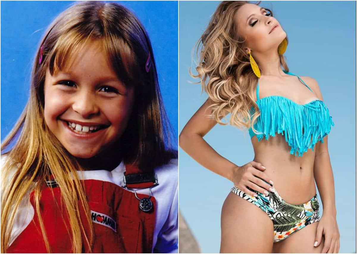 Carla Diaz cativou o Brasil aos 5 anos e hojeesbanja sensualidade
