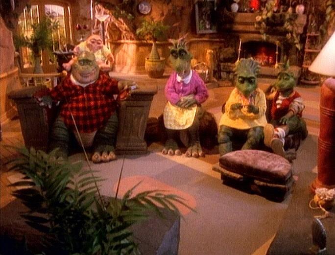 Dino e sua família eram viciados em TV
